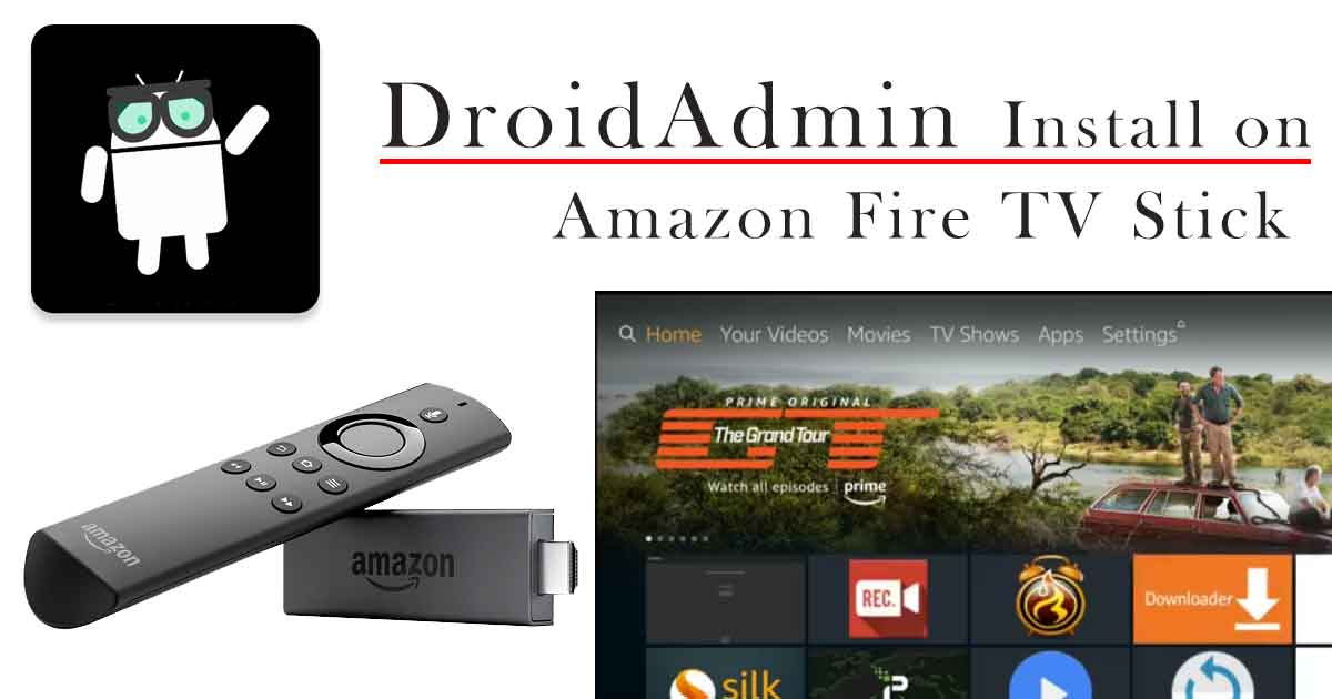 droidadmin on fire stick