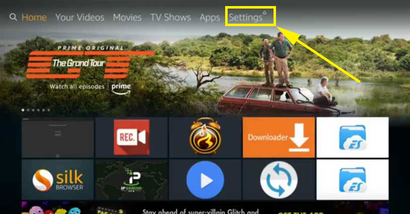 install filelinked fire stick