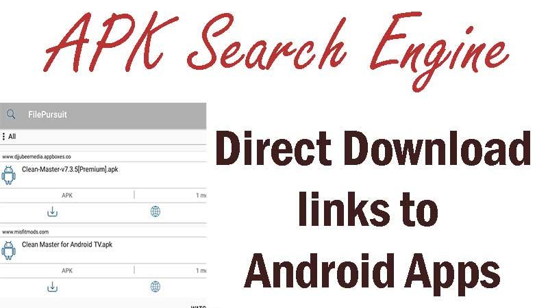 APK search engine