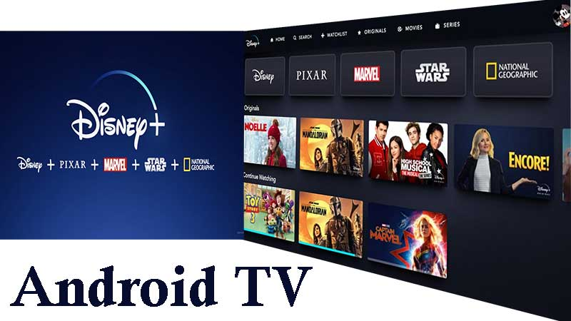 Disney plus Android TV APK