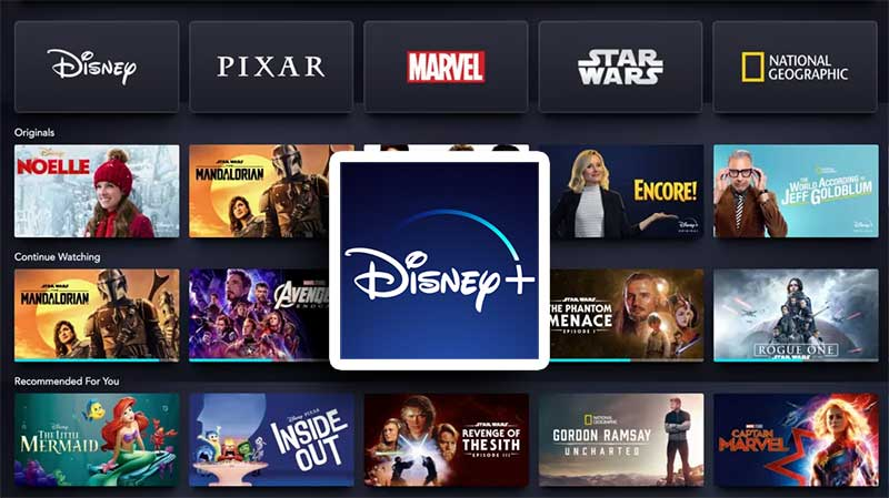Disney Plus Android TV